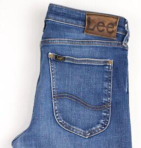 Lee-Herren-Malone-Slim-Jeans-Stretch-Groesse-W31-L32-AVZ819