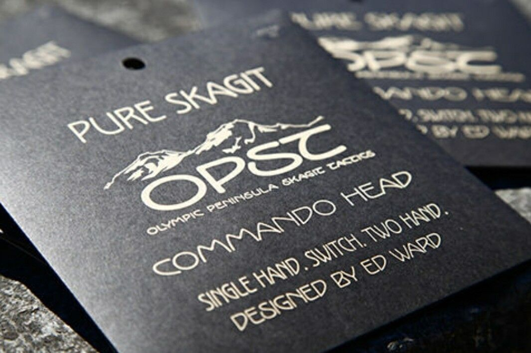 OPST Commando Pure Skagit Heads 175gr.,New  FREE Shipping In USA
