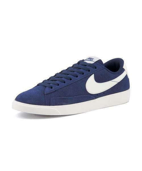 Size 7.5 - Nike Blazer Low SD Blue Void Sail for sale online | eBay