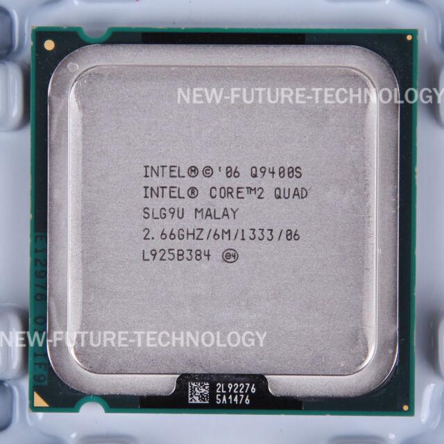 Intel Core 2 Quad Q9400S (AT80580AJ0676M)SLG9U CPU 1333/2.66 GHz LGA 775 100% OK