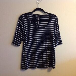 green evenlope striped blousr scooped neck xl ebay