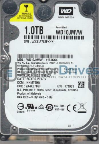 DCM HHMT2HN WD10JMVW-11AJGS4 Western Digital 1TB USB 2.5 Hard Drive