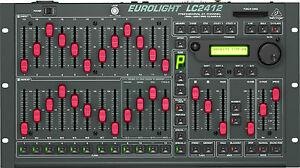 New Behringer Eurolight Lc2412 Light Board Garantie 3 An! Auth Dealer!-afficher Le Titre D'origine
