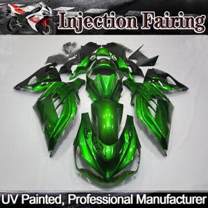 Details About Fairing Kit Fit For Kawasaki Ninja Zx14r Zx 14r Zzr1400 2012 2019 Green Bodywork