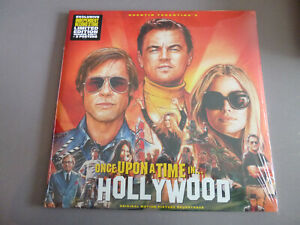 OST-Once-Upon-a-Time-in-Hollywood-2LP-ltd-orange-Vinyl-NEU-amp-OVP-Poster