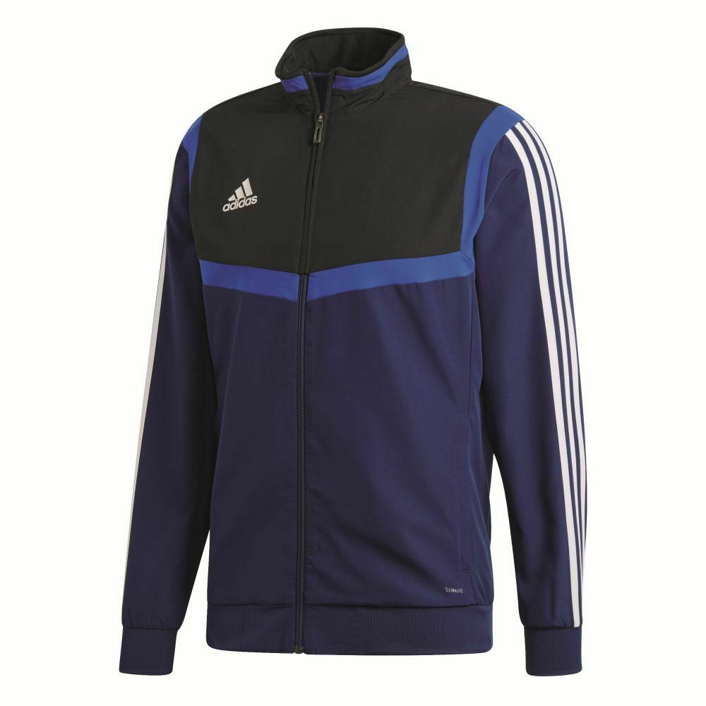 Adidas Footbtutti bambini Presentation Jacket lungo Sleeve Full Zip Tracksuit Top