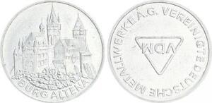 Germany Probeprägung IN Pfennig-Größe Titanium Zinc, Vdm Rrr! F. St
