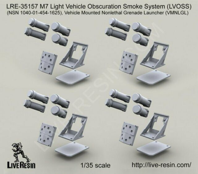 Live Resin 35157 1/35 M7 Light Vehicle Obscuration Smoke System (LVOSS)