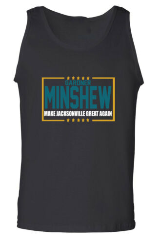 Gardner Minshew II Jacksonville Jaguars Election TANK-TOP