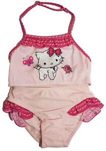 Disfraz Charmmy Detalles Edad 2 Niña Natación Rosa De Disney Bikini Kitty 3 Bañador 1clFuJTK35