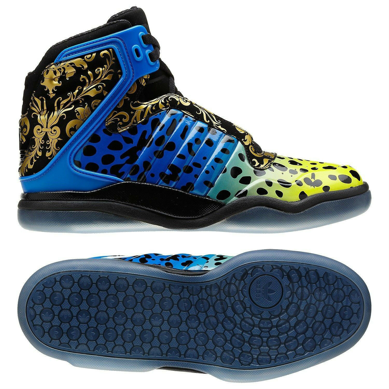 Adidas TS Lite AMR Black bluee Yellow gold Floral Ice Poison Frog Q32942 shoes
