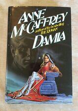 Damia, (Rowan #2) Anne McCaffrey Vintage 1992 HCDJ 1st Edition/1st Print