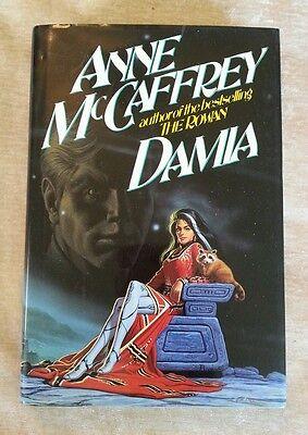 Damia, (Rowan #2) Anne McCaffrey Vintage 1992 HCDJ 1st Edition 1st Print