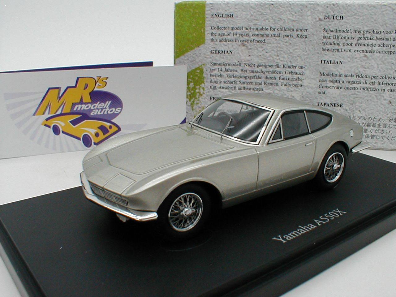 Autocult 06030 - yamaha a550x baujahr 1964  silbermetallic  1 43 neuheit