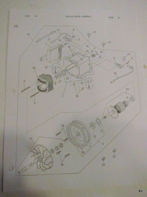 Kirby Avalir Exploded Diagram Reference Manual  235914 An aid for service.