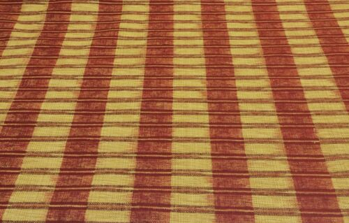 """COVINGTON CARENZA FRENCH YELLOW STRIPE HEAVY FURNITURE FABRIC BY THE YARD 54/""""W"""