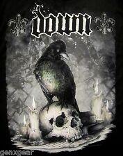 DOWN cd lgo JUMBO CROW / SKULL Official SHIRT MD New pantera Diary of a Mad Band