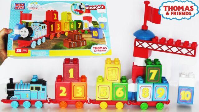 NEW Mega Bloks 60-Piece Thomas /& Friends Building Blocks Toy Set Multi