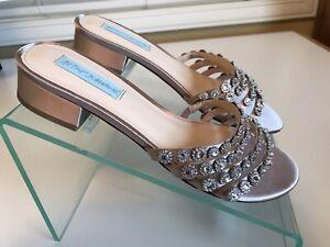 Blue by Betsey Johnson Womens SB-sophi Heeled Sandal