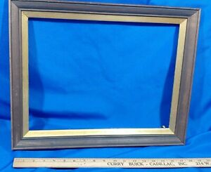 Picture-Frame-VTG-Solid-Wood-Gold-Photo-Painting-Mirror-VTG-19x15-Opening-16x11
