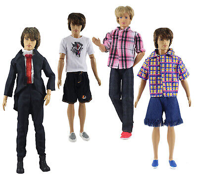 Fashion Outfits//Clothes//Uniform+boots For 12 inch Ken Doll k03