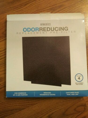 Homemedics Odor Reducing Replacement pre Filter Includes 4 Replacement Pre-Filte