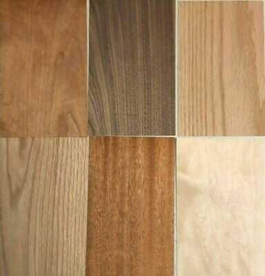 Wood Veneer Pack Maple Oak Walnut