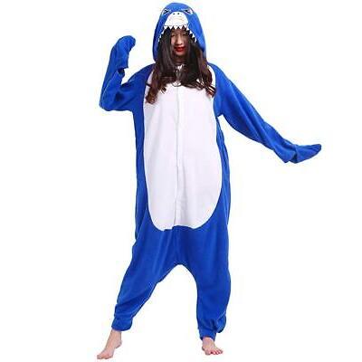 Pigiama intero costume animale kigurumi unisex carnevale Halloween festa cosplay