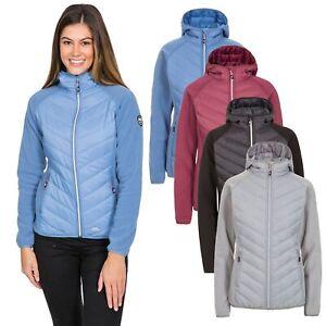 Trespass-Boardwalk-Womens-Full-Zip-Fleece-Jacket-with-Hood-in-Black