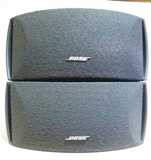 Pair Speaker only. Bose 321 or Cinemate system Satellite Speakers ...