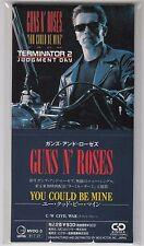 "GUNS N ROSES - You could be mine /Civil War (1991) JAPAN 3"" CD Single"