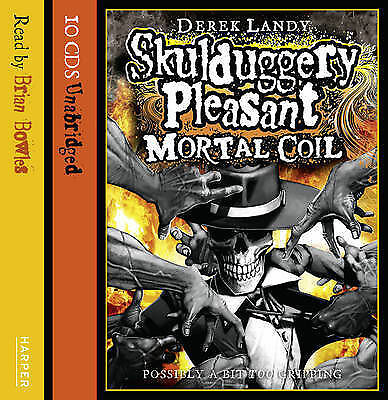 Skulduggery Pleasant: Mortal Coil by Derek Landy (CD-Audio, 2010)