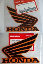 Honda REPSOL Fuel Tank Decal Wings Sticker x 2  2011 2012 2013 2014 2015 2016
