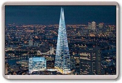 FRIDGE MAGNET - SHARD - Large Jumbo - (Night) London UK England
