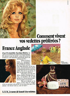 """Breweriana, Beer Publicite 1968 Lux Savon France Anglade """" Caroline Chérie"""" Strong Resistance To Heat And Hard Wearing Collectibles"""
