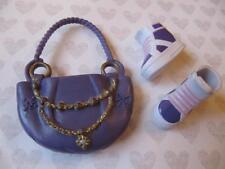 Liv Girls Real Life CLOTHES FASHION Accessory~PURPLE PURSE/SOPHIE TENNIS SHOES