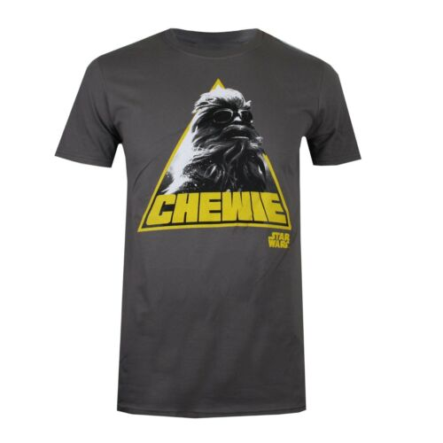 Han Solo Official Licensed Merch Star Wars Men/'s T-Shirt Chewie Chewbacca