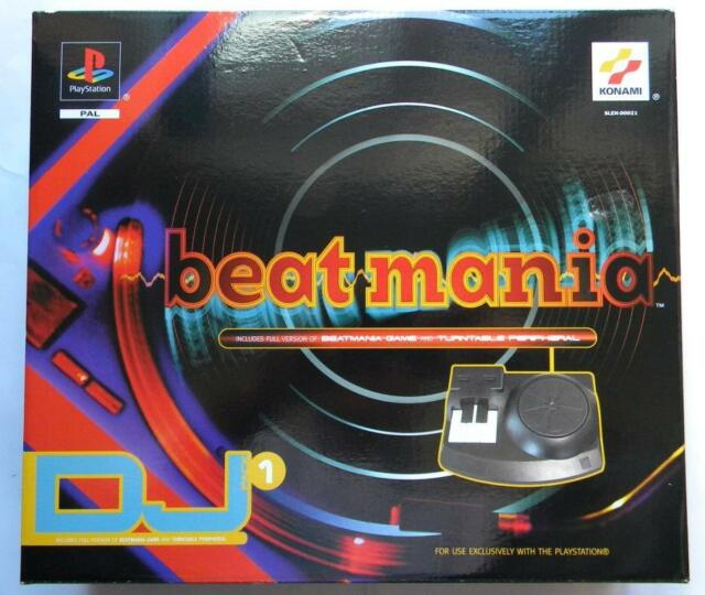 BEATMANIA PLAYSTATION ONE PS1 NUOVO