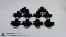 Pisco Pzc38 516 Pack Of 10 Reducing Cross Fitting New 231602