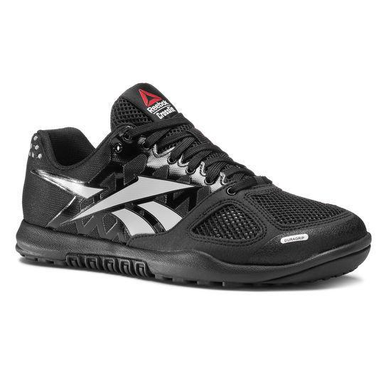 c14cc9cc5b33 Reebok Men s Crossfit Nano 2.0 Hommes Training Shoe Black zinc Grey Size 10  for sale online