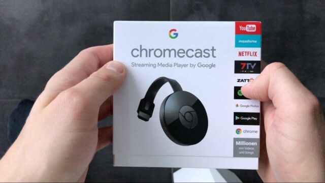 Google Chromecast (2nd Generation) HD Media Streamer - Black