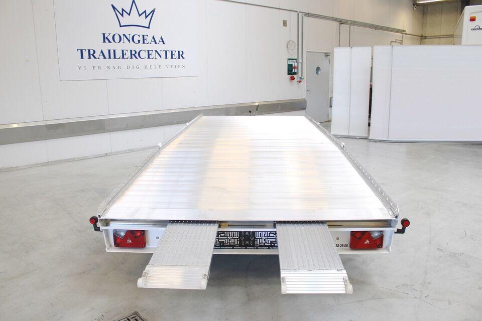Trailer Kongeaa Inter Mondello - 3000 kg., lastevne (kg):