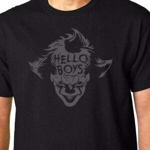 Camiseta Original IT Payaso Film Horror Cult Stephen King Camiseta Negra