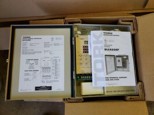 TORK NSI DLC400BP 4 Zone Digital Lighting Controller 120-277V Untested