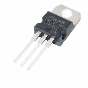 20PCS TYN812 12A 800V Unidirectional thyristor TO-220