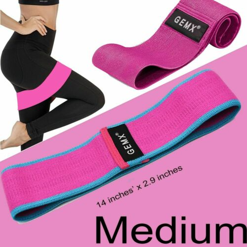 Non Slip Fabric Resistance Hip Circle Loop Bands Exercise Booty Glutes Leg Squat