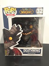 "6/"" WOW Oversized Deathwing Figure Funko Pop Games"