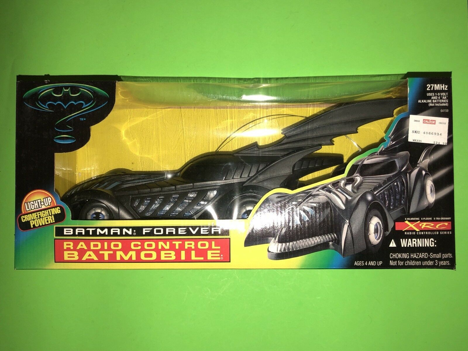 Vintage Batman Forever Radio Controlled Batmobile XRC by Kenner  NEW SEALED