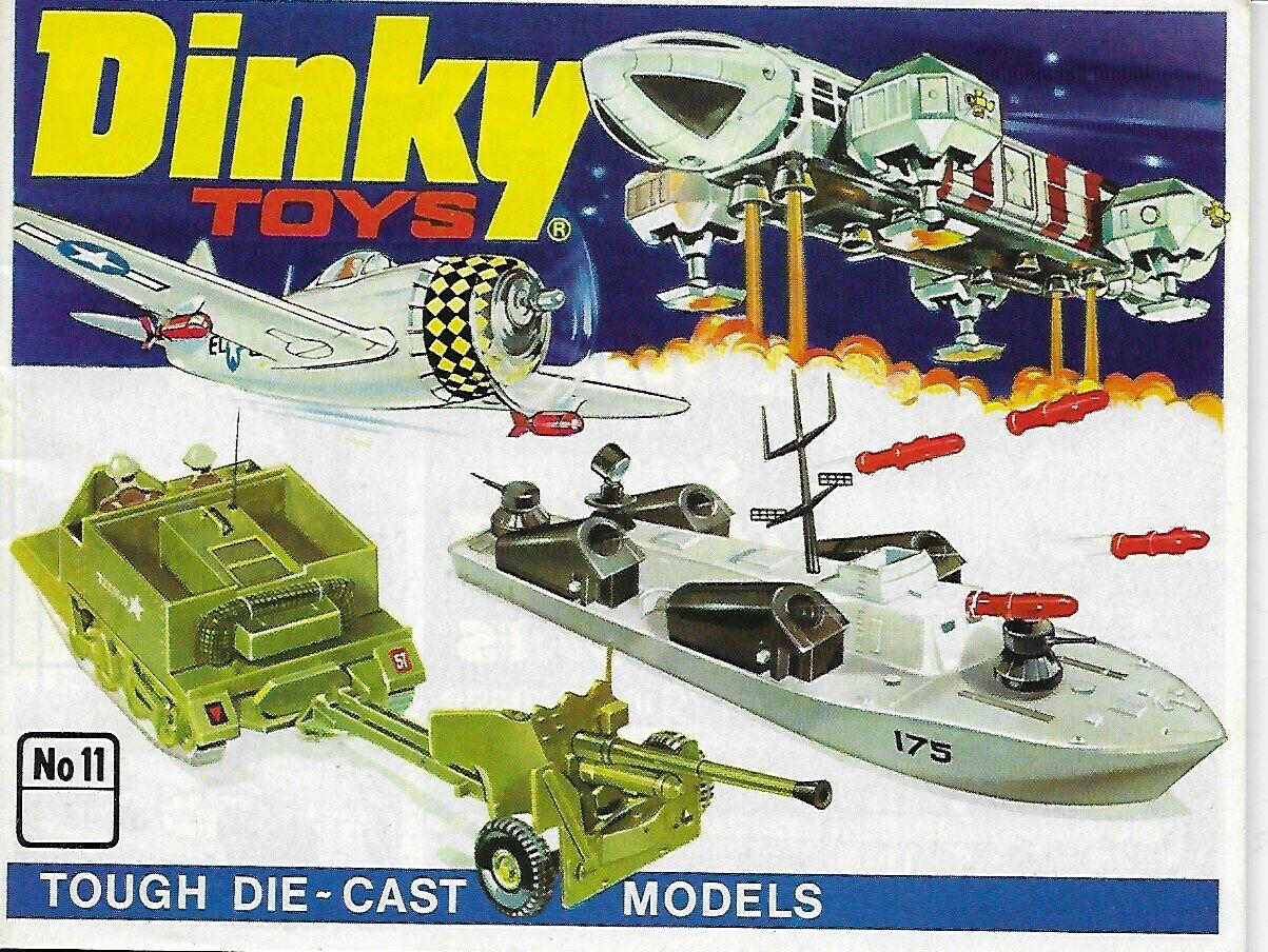 Dinky Toys catálogo no 11 con lista de precios dm