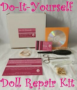 Repair Kit for American Girl Dolls - Restring Rewig